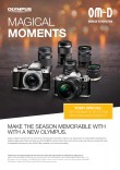 Capture magical moments thanks to bonus offers on Olympus OM-D camera bodies and M.ZUIKO lenses